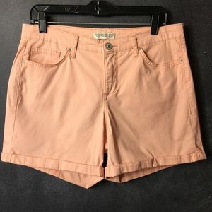 VINTAGE AMERICA BLUES | Pink Twill Shorts